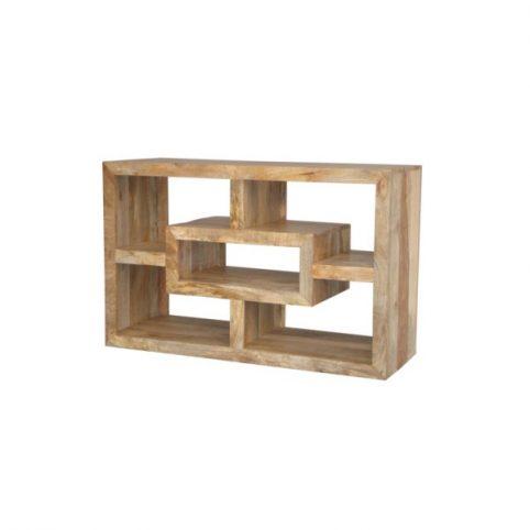 light mango wood media unit