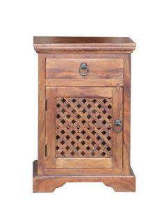 sheesham wood bedside table_2