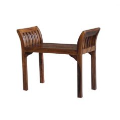 sheesham wood bench_2