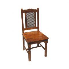 sheesham wood dining chair_4