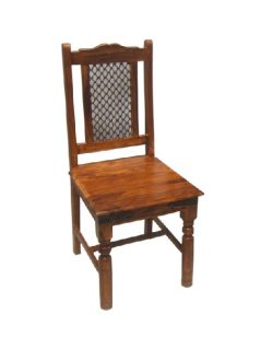 sheesham wood dining chair_4