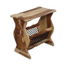 sheesham wood magazine rack table_3