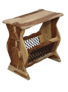 sheesham wood magazine rack table_3
