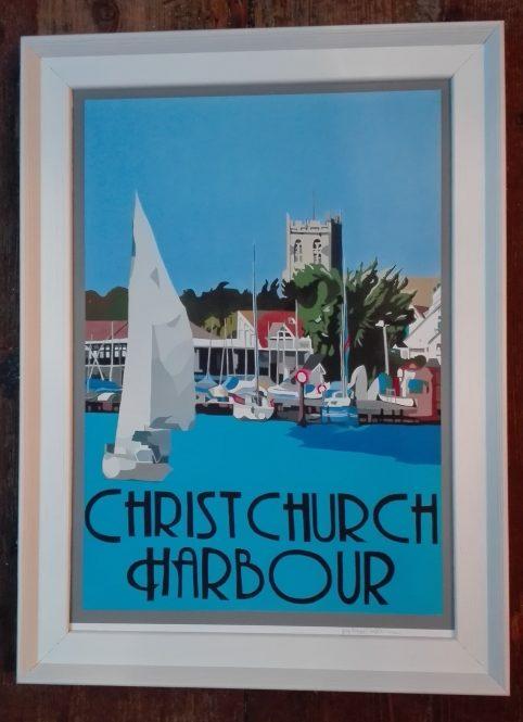 vintage christchurch harbour