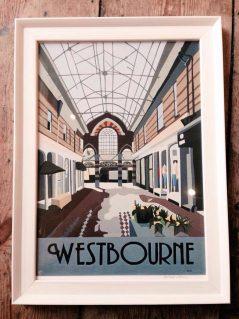 vintage westbourne print