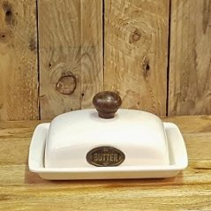 butter dish, ceramic, kitchenware