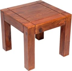 Sheesham wood end table