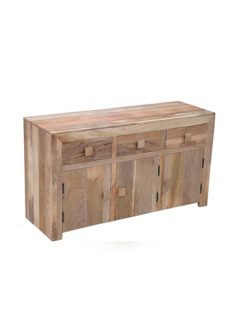light mango wood sideboard