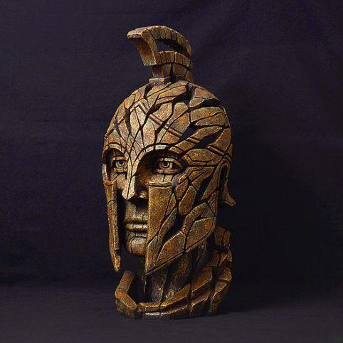 Handpainted Spartan warrior sculpture from UK