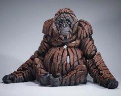 orangutan sculpture from UK