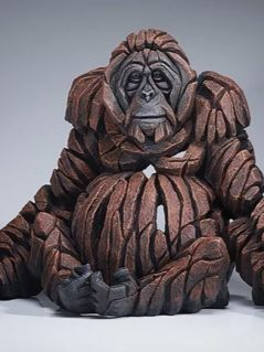 orangutan sculpture from UK