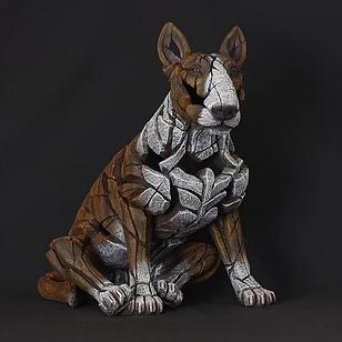 Bull terrier brindle