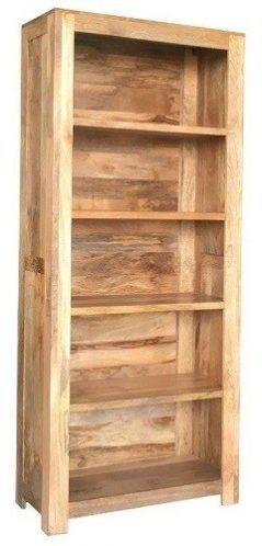 Indian Dakota Light Mango Wood Large Bookcase