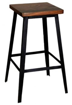 contemporary Indian sheesham wood bar stool