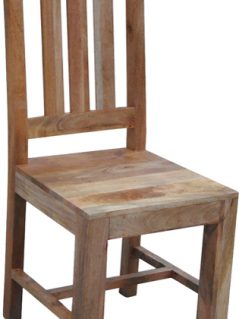 Dakota light mango wood chair