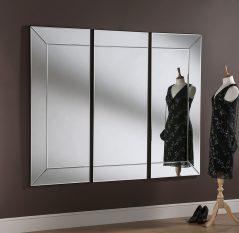 Corfe art deco Mirror