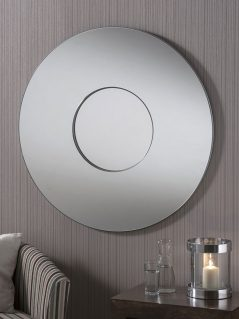 Kimmeridge art deco mirror