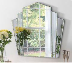 art deco style arch shape mirror