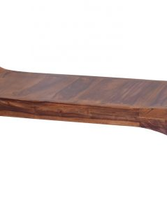 Large Sheesham wood bench