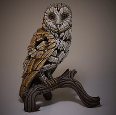 Sculpture barn owl ginger