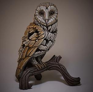 Sculpture barn owl ginger