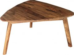 Two tone sheesham wood coffee table