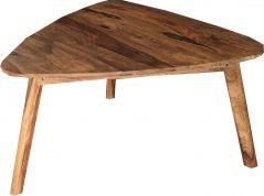 Two tone sheesham wood coffee table