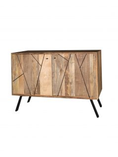 Urban retro range industrial style 2-door sideboard