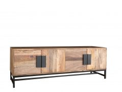 contemporary style wooden plasm tv stand media unit low sideboard