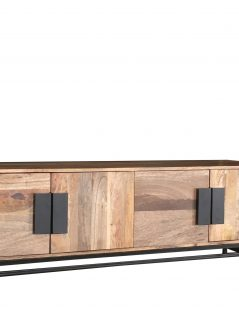 contemporary style wooden plasm tv stand media unit sideboard