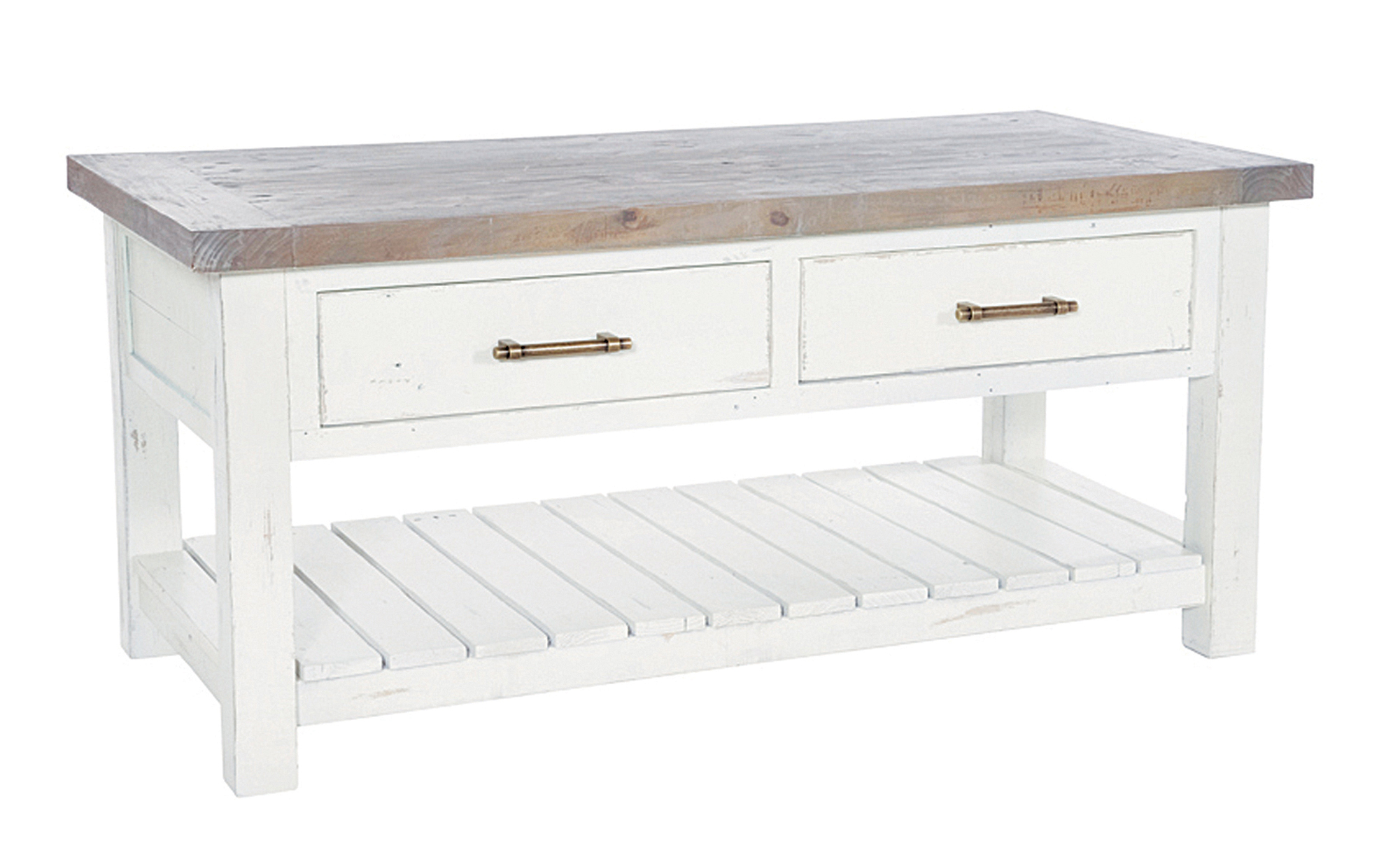 Solid Reclaimed Wood Coffee Table Scape Interiors West Ltd