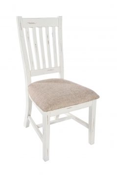 Solid reclaimed. wood dining chair