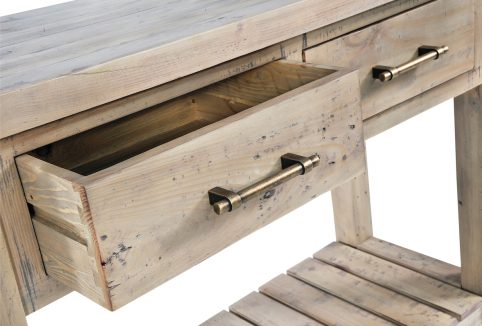console table Drawer Detail