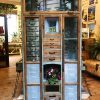 Shabby chic Bohemian style storage cabinet chest of drawers with lots of drawers