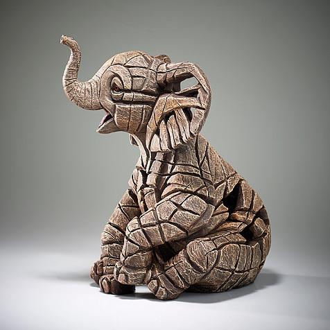 Elephant Calf Sculpture