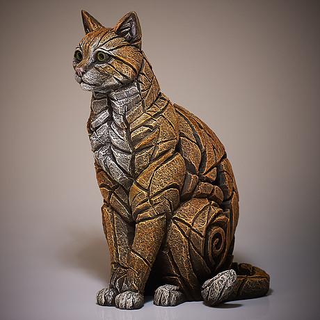 Cat Sitting Sculpture