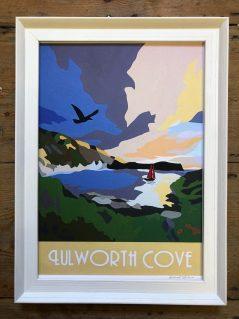 vintage style Lulworth Cove print