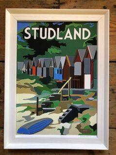 vintage style Studland print
