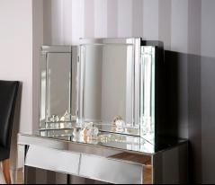 Triple Art Deco Marseille Mirror