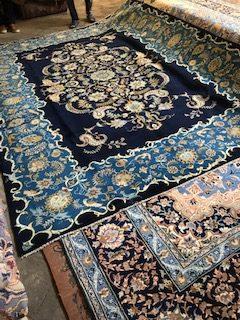 persian handmade rugs, the grand bazar in Tehran, Iran