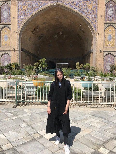 Islam Masjed iin Tehran, Iran next to the Grand Bazar