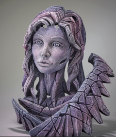 handpainted angel sculpture from the UK