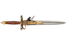 French Knife Pistol (18Th Century)