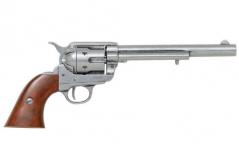 Colt Peacemaker With Wooden Handle Gun Metal 1869 Long Barre