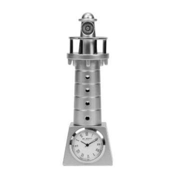 lighthouse miniature clock