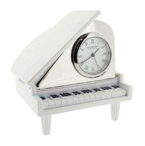piano miniature clock