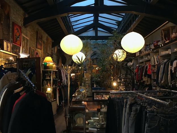 Vintage shop 69A in Liverpool