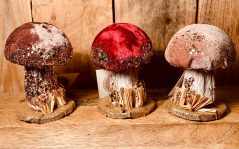 small ''Alice in Wonderland'' decorative mushroom