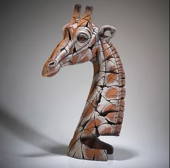 handpainted contemporary giraffe sculpture from UK