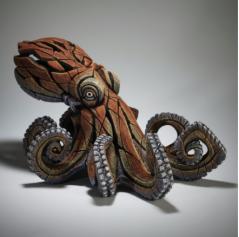 handpainted modern contemporary octopus sculpture from UK